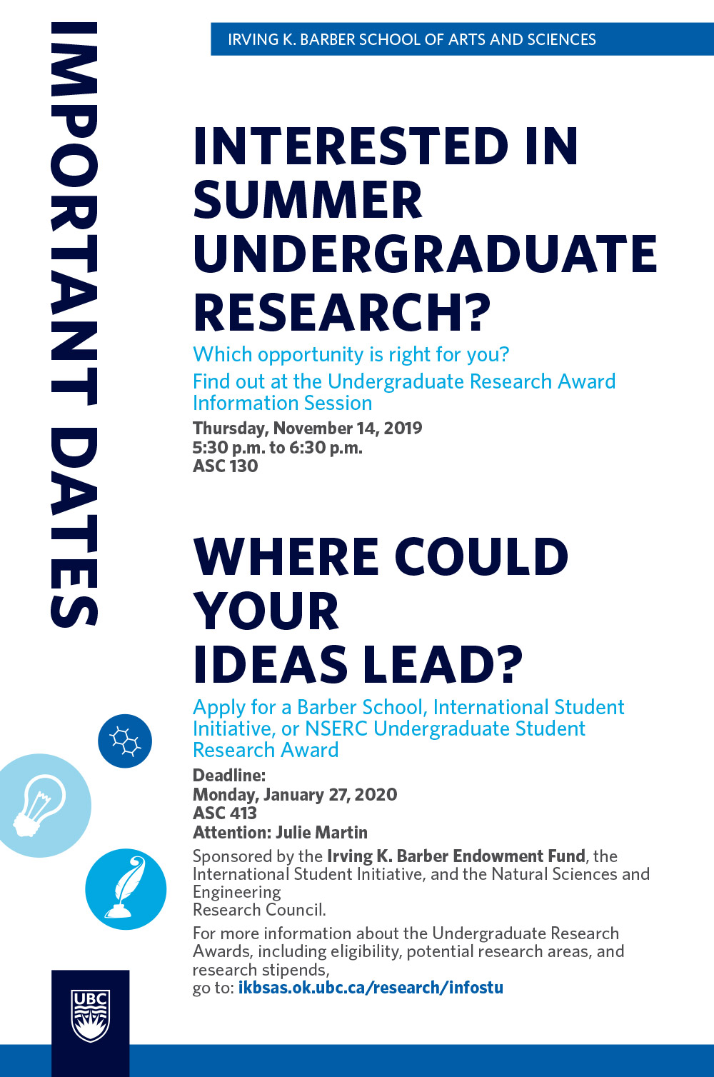Interested in Summer Undergraduate Research